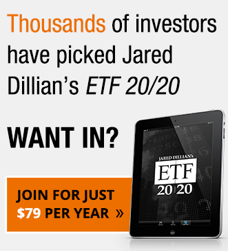 Thousands of investors have picked Jared Dillian's ETF 20/20. Want in? Join for just $79 per year.