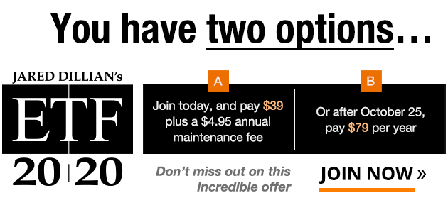 You have two options... a) Join today, and pay $39 plus a $4.95 annual maintenance fee. b) Or after October 25, pay $79 per year. Don't miss out on this incredible offer.