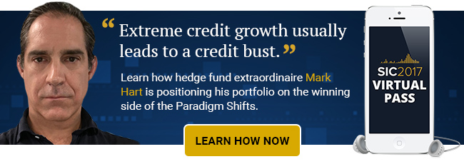 Learn how hedge fund extraordinaire Mark Hart is positioning his portfolio on the winning side of the Paradigm Shifts.