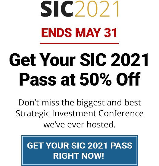Ends May 31 - Get Your SIC 2021 Pass at 50% Off!