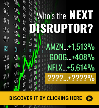 Who's the Next Disruptor? Discover it by clicking here...